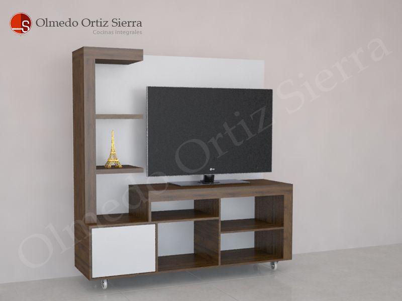 Diseño de Mueble Para Televisor - Hogar Moderno | Centros De ...