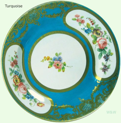 Museum Collection Decorative Tin Enamel Floral Plates - Picnic Party Display | eBay turquoise  sc 1 st  Pinterest & Museum Collection Decorative Tin Enamel Floral Plates - Picnic Party ...
