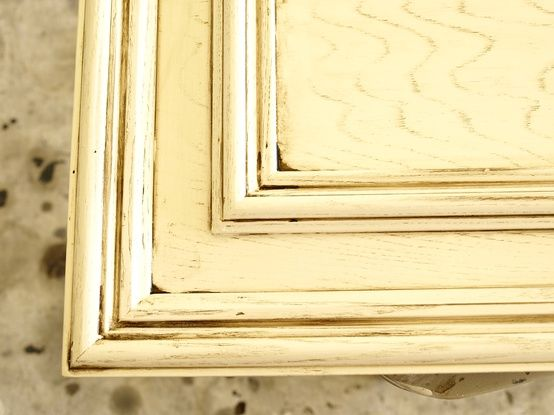 Painting Old Oak Cabinets In Distressed White Heavenly
