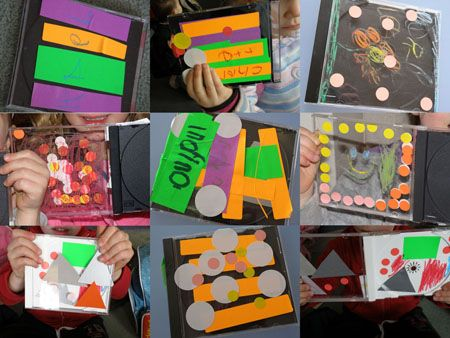 cd cases collages