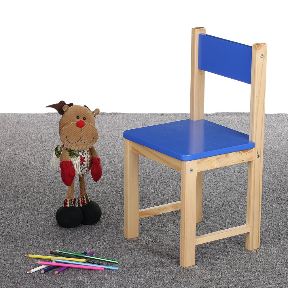 Beautiful IKayaa Wooden Stackable Kids Toddler School Chair