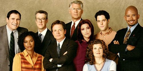 Cast of Spin City