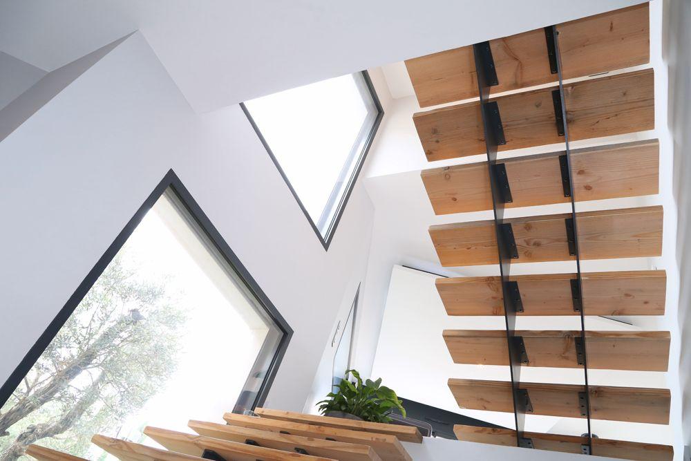 Ligne contemporaine - Une maison positive Une maison positive - dessiner sa maison en ligne