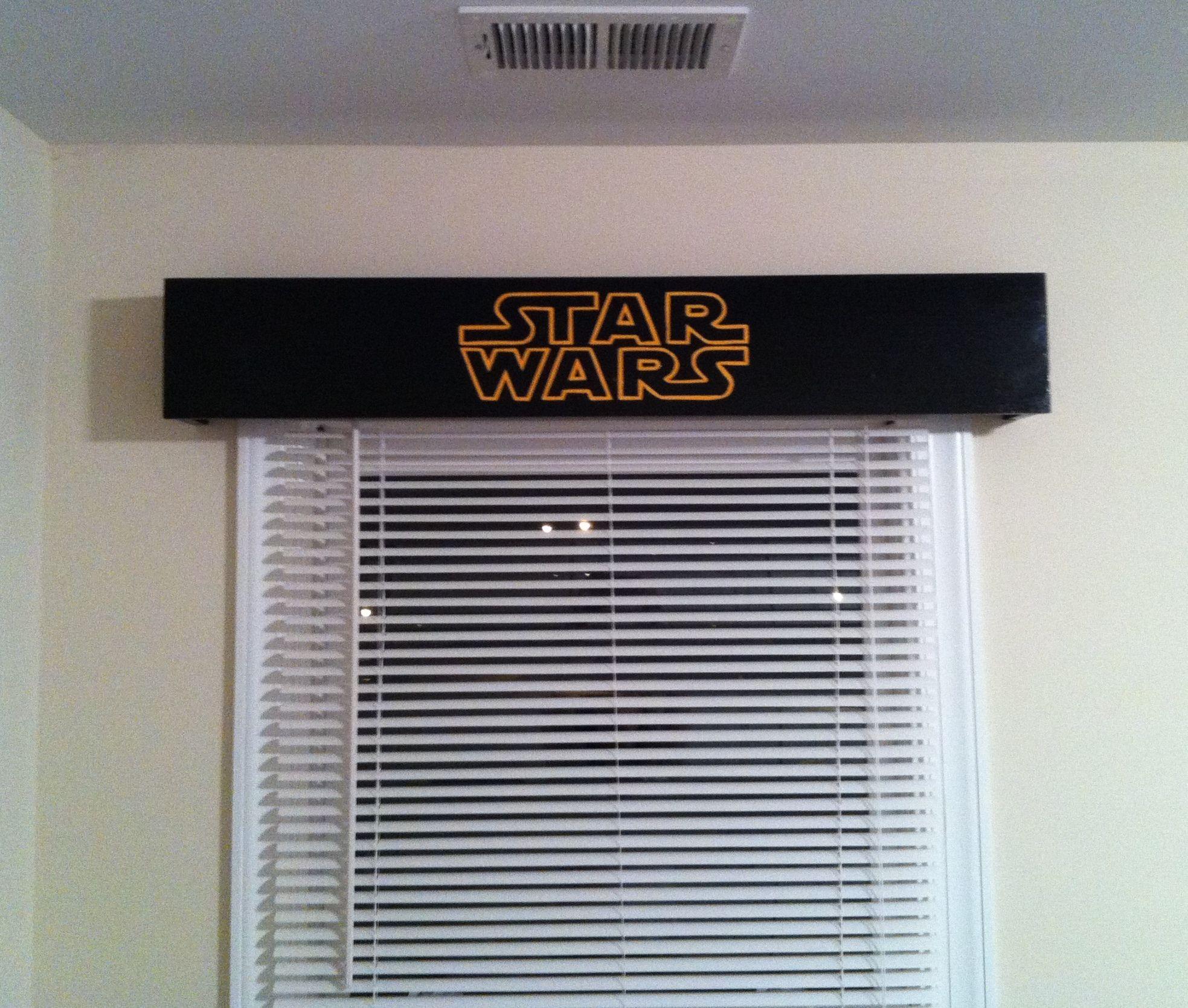 Star wars cornice projects iuve done pinterest cornice