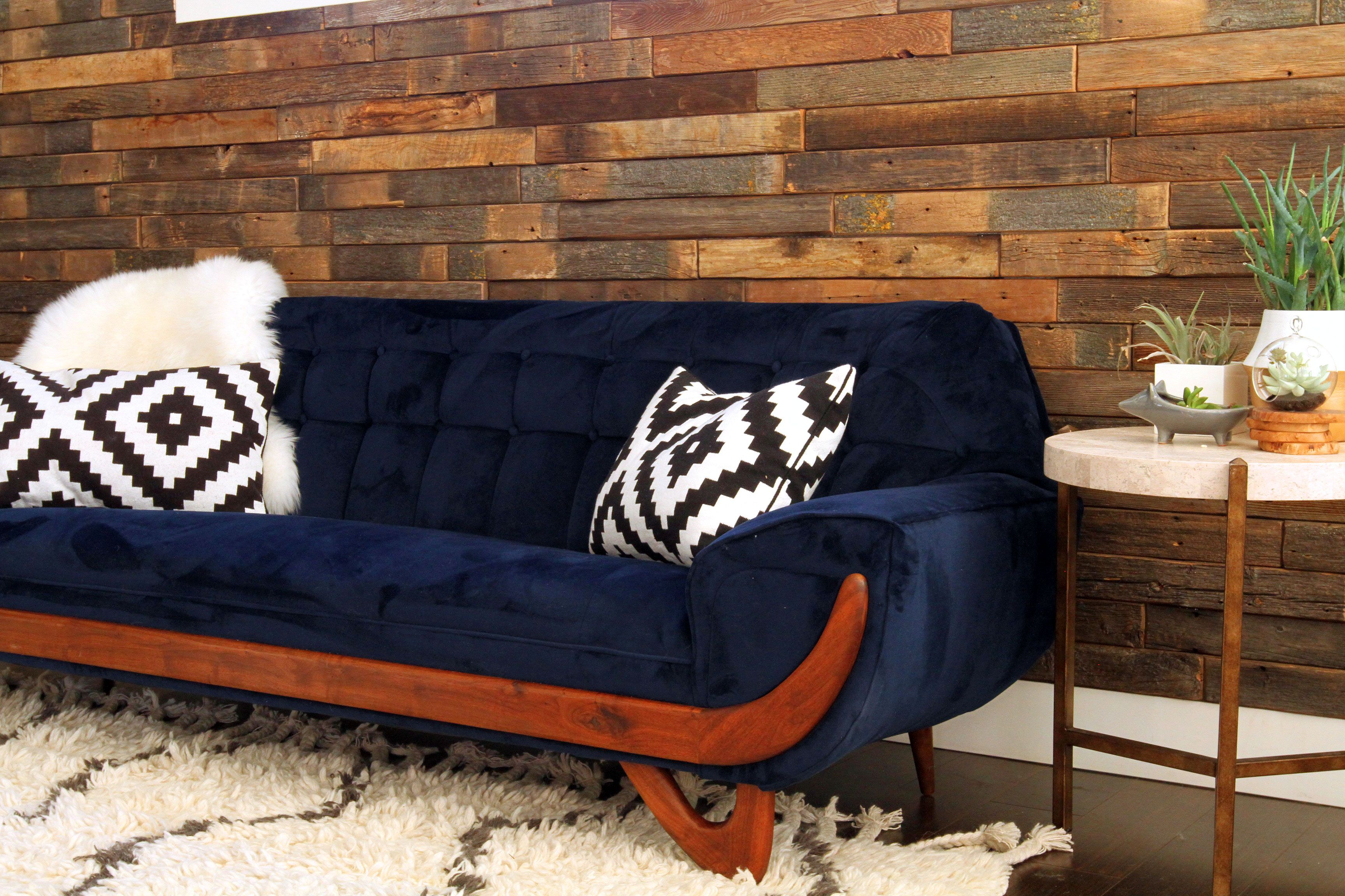 Adrian Pearsall Style Midcentury Couch