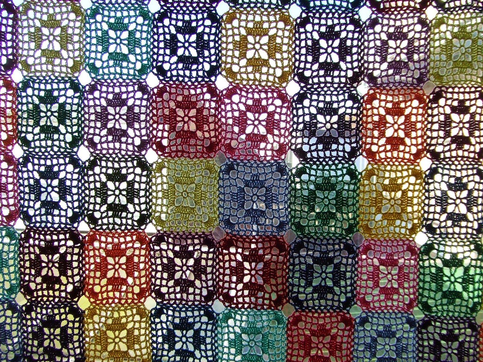 My world of crochet: Gardine für Schlafzimmerfenster! | Horgolt ...