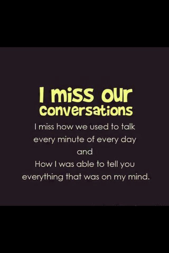 I Miss You You Know Who You Are Your A Special Person In My Life