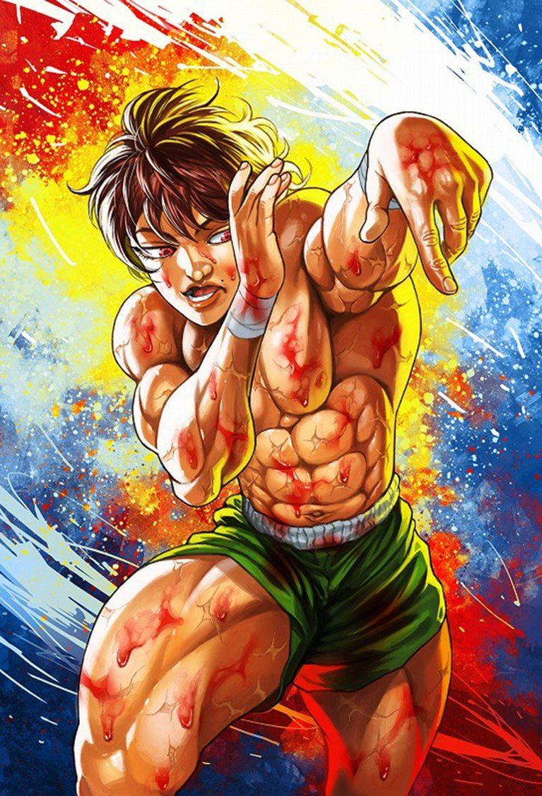 Hanma Baki. Other cool stuff Pinterest Anime, Manga
