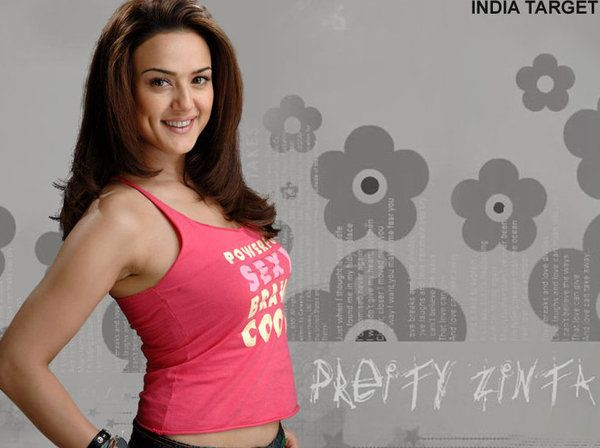Preity Zinta Hot Kiss Wallpaper Iphone Wallpapers Mobile Phone