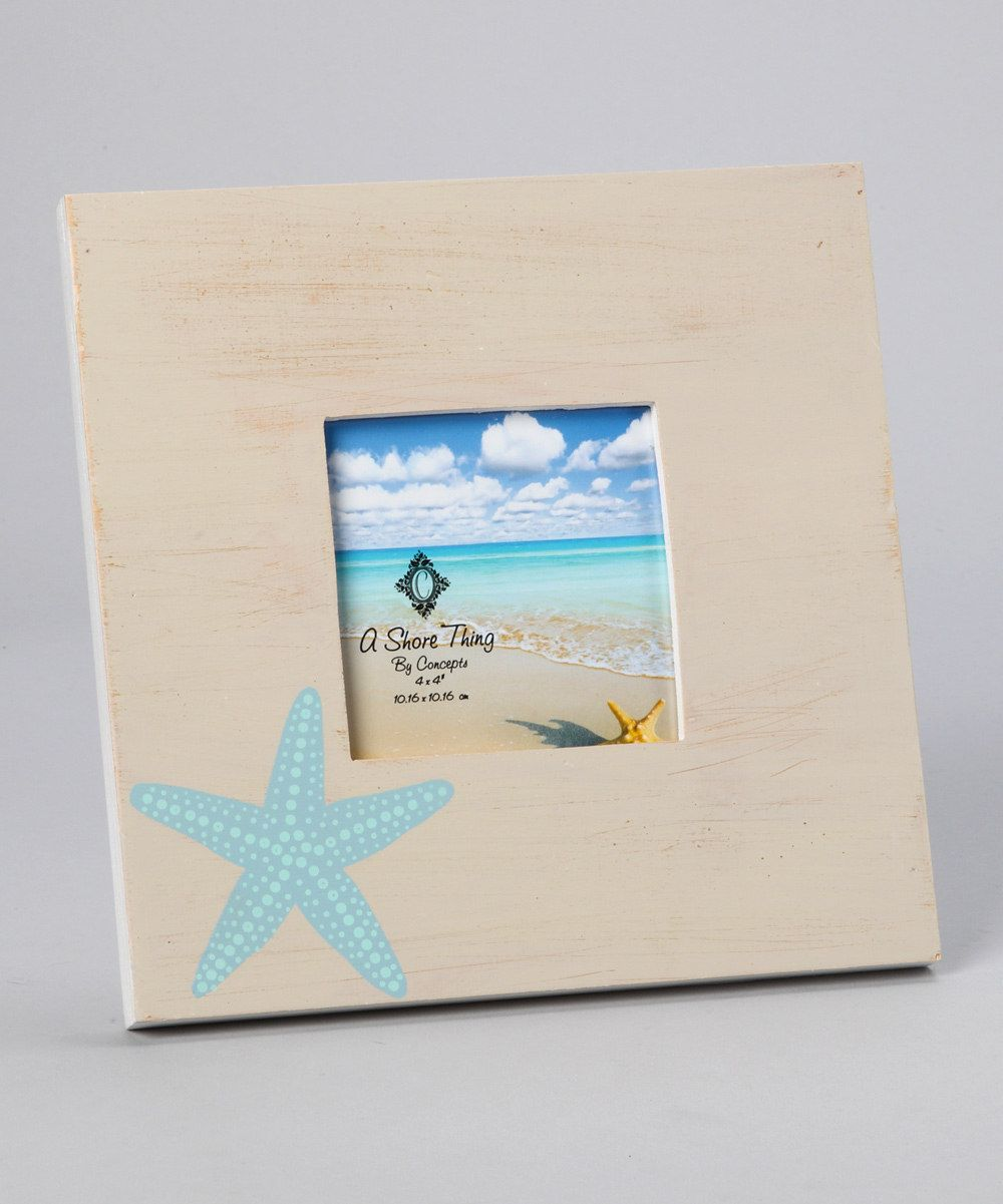 White Starfish Driftwood Picture Frame | For the Home | Pinterest ...