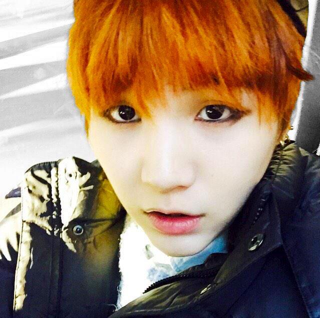 Suga Orange Hair