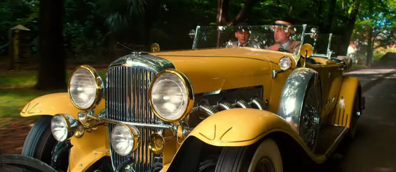 Yellow Car Used In Great Gatsby