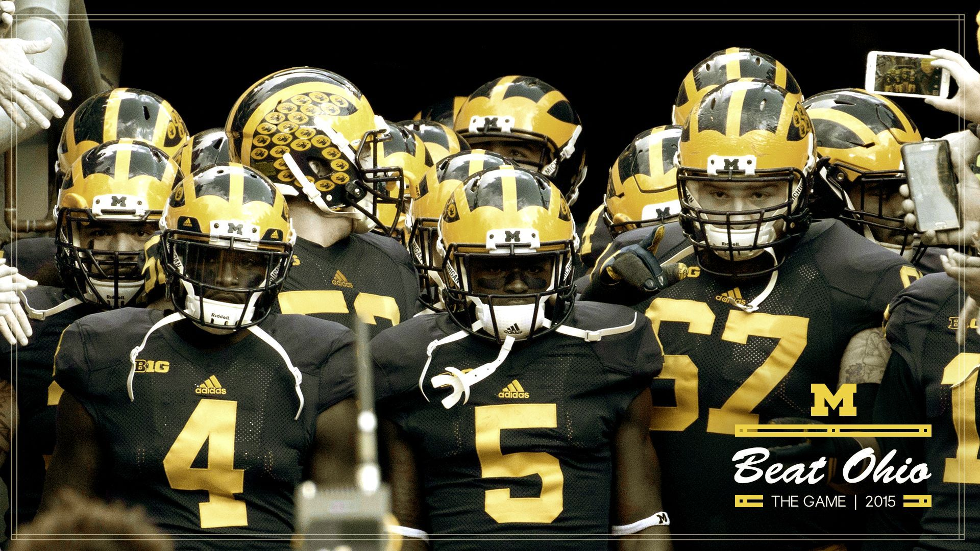 Michigan Football Wallpaper X