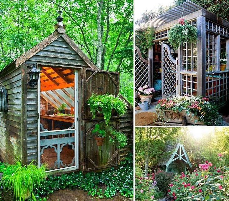 17 Best images about garden shed on Pinterest Gardens Storage