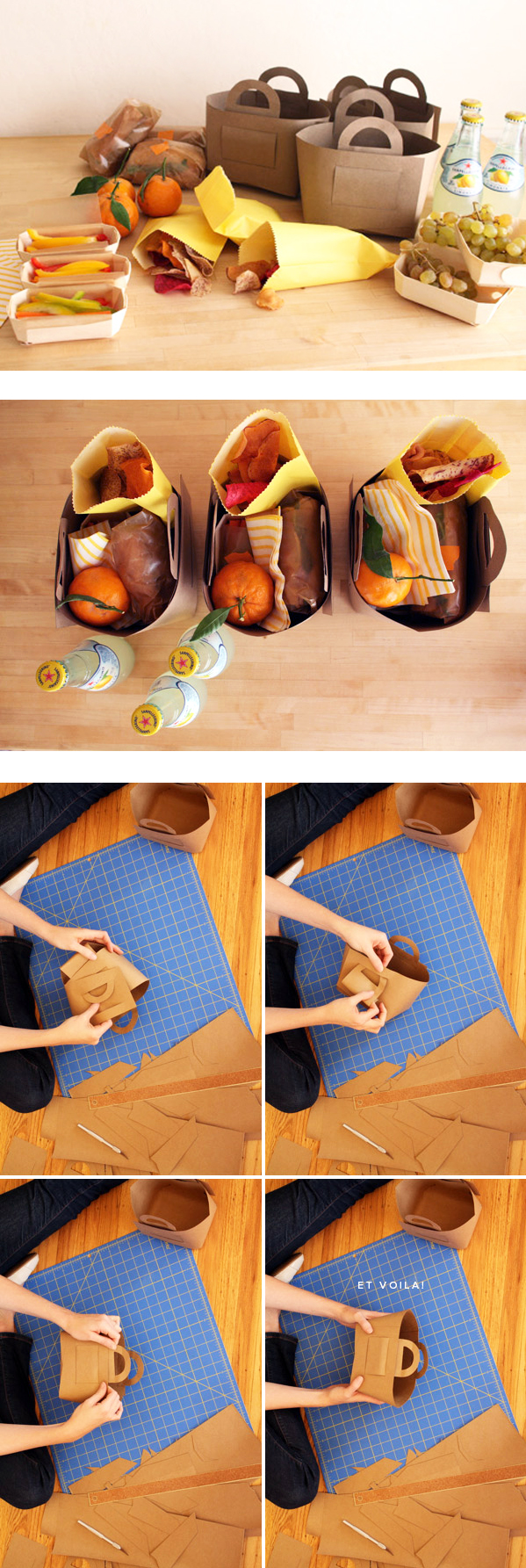 DIY Picnic Baskets - tutorial and free printable template ...