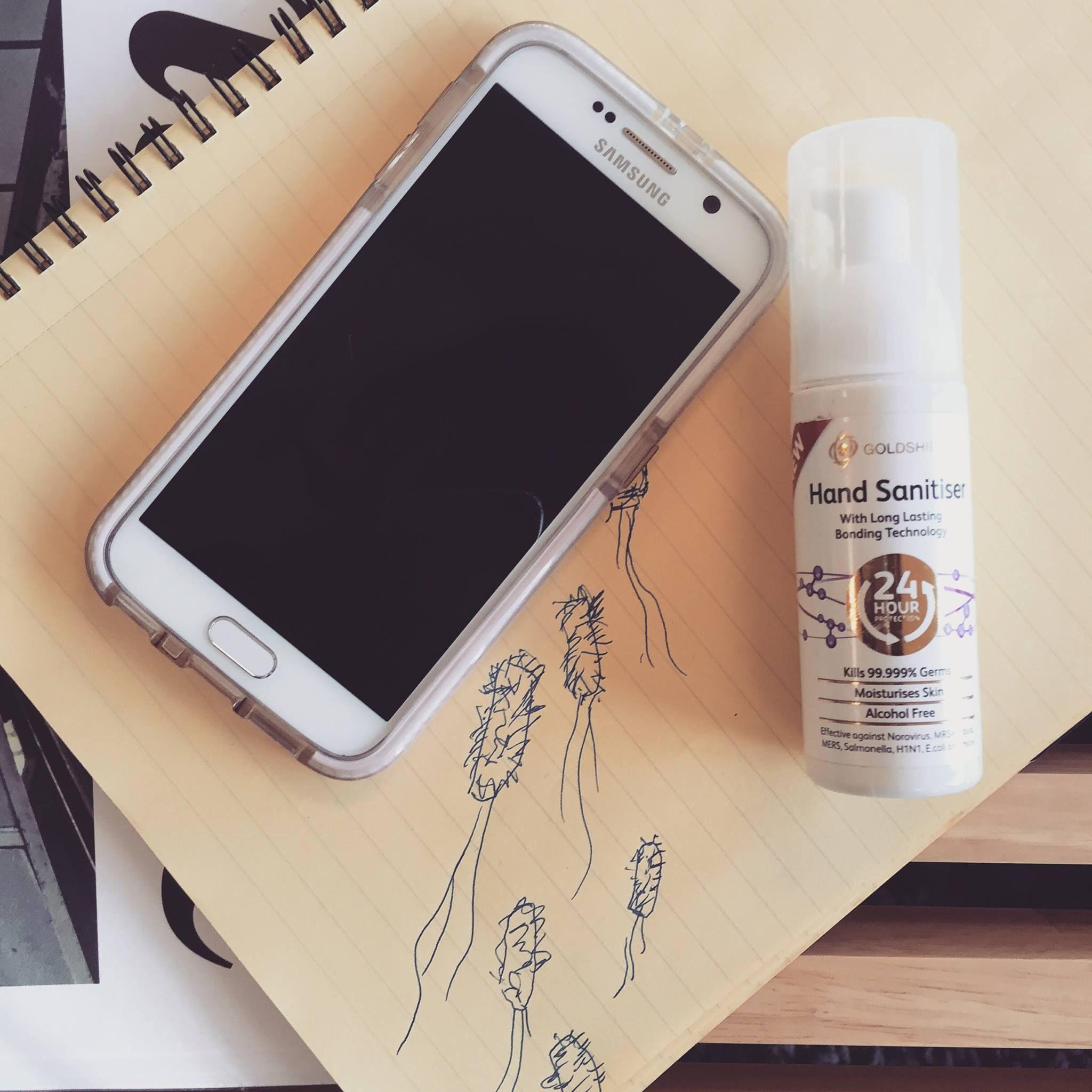 Jao Hand Sanitizer 2oz Hand Sanitizer Makeup Kit Beauty Blender