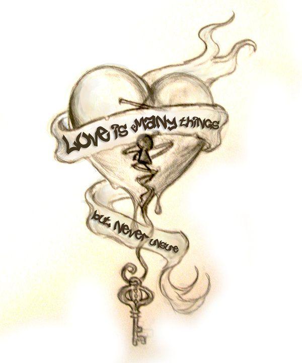 Tattoo Design By Thebastet On Deviantart Broken Heart Chest