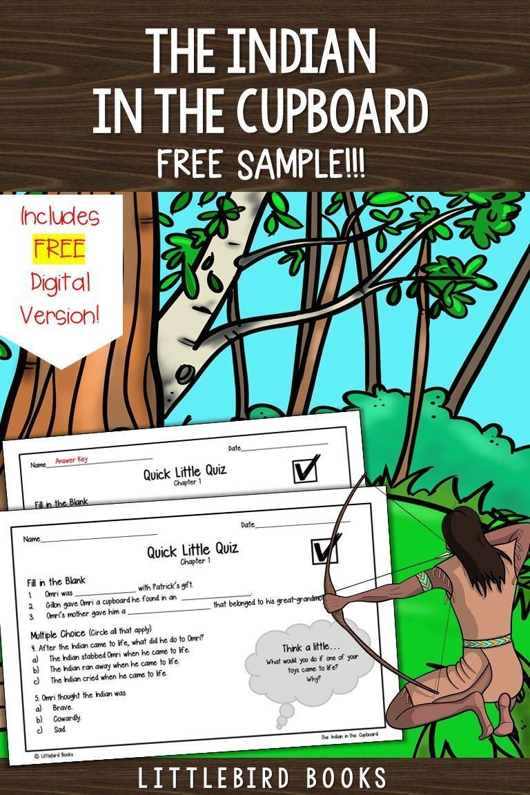 Free Indian In The Cupboard Chapters 1 2 In 2020 Comprehension Questions Childrens Literature Activities Reading Graphic Organizers
