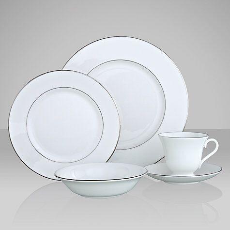 Wedgwood Signet Platinum Tableware