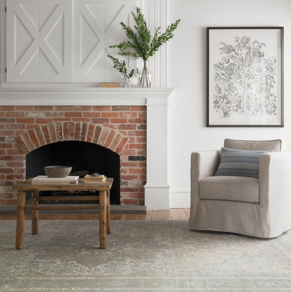 Stratford Rose Fireplace At The Pine Hall Brick Showroom In