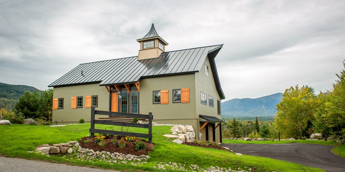 Small Barn Home Orchard View Small Barn Home Barn House Plans Barn Style House