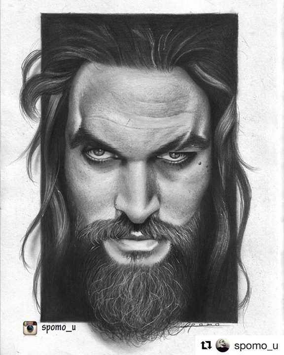 Jason Momoa Vikings: Ragnar Lothbrok By Iciaka Sketches In 2019 Art Drawings Pencil