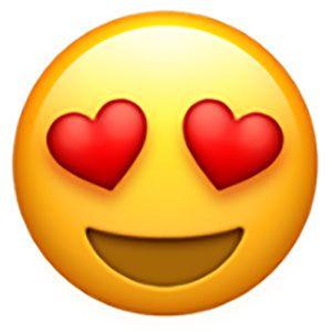 Free Valentine S Day Emoji Cross Stitch Pattern Emoji Love Eyes