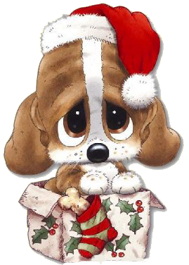 CHRISTMAS PUPPY … Christmas drawing, Christmas puppy