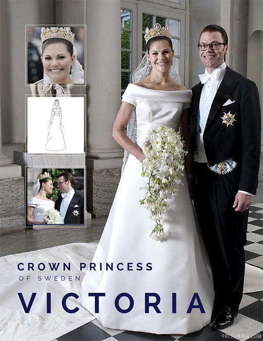 """9ri: """"Get to Know Me: Top 10 Favorite Royal Wedding Gowns """"#7: Crown ..."""