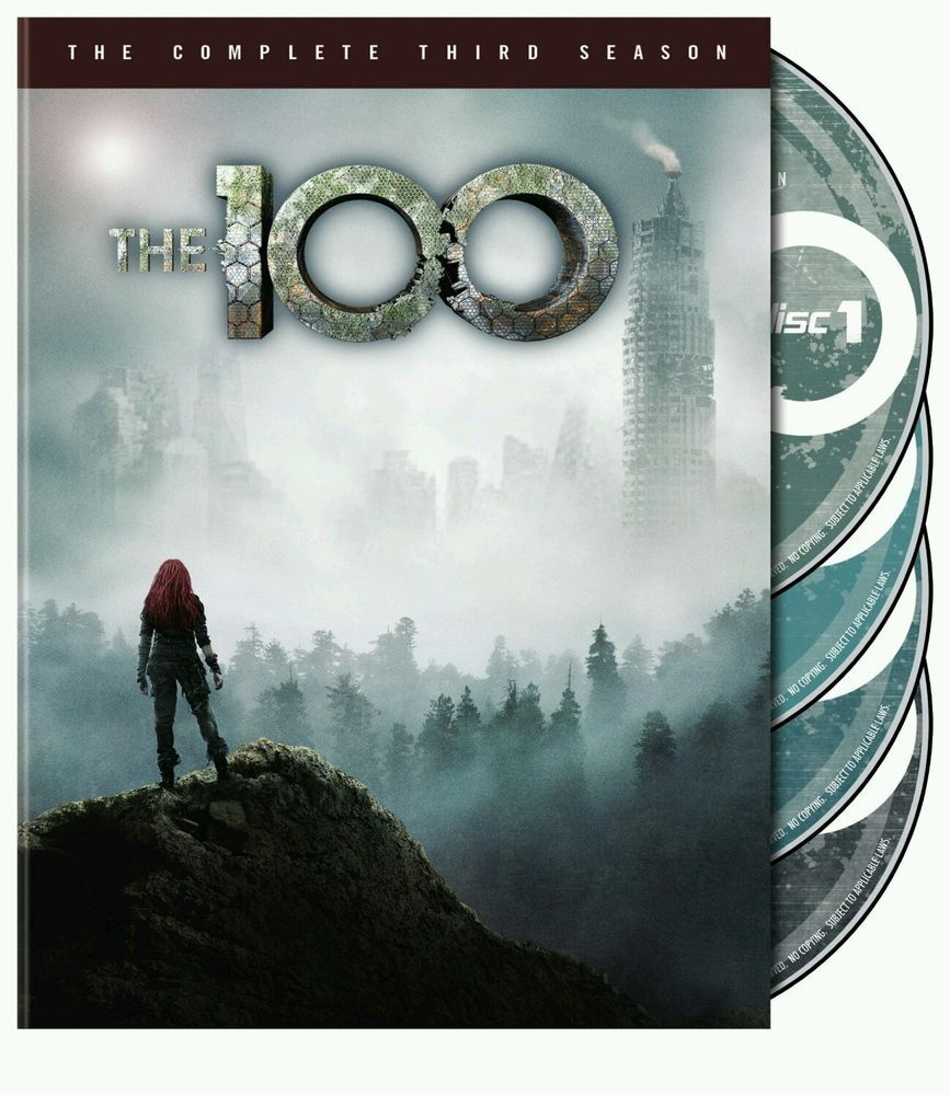 The 100 The Complete Third Season (DVD, 2016, 4Disc Set