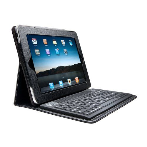 Kensington Keyfolio Bluetooth Keyboard Case For iPad 2 And New iPad for $42 + FS, gift ideas for him, her #tech