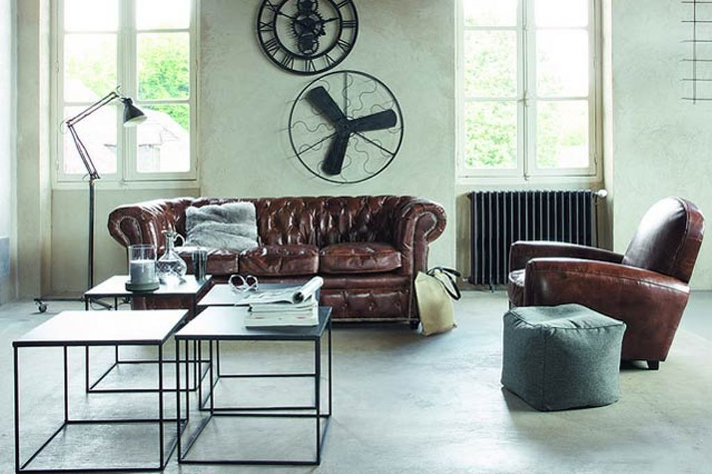 Modern industrial living room home decor and int design for Industrial living room ideas