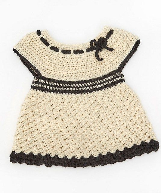 Free Crochet Pattern: Baby\'s Special Tunic   Bebe