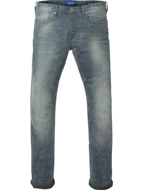 Ralston Concrete Bleach Regular Slim Fit Mens Outfits Fashion Victim Slim Fit Jeans