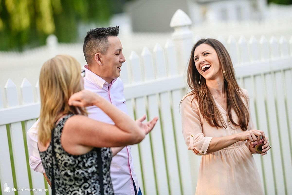 Intimate Backyard Wedding Reception in 2020 | Wedding ...