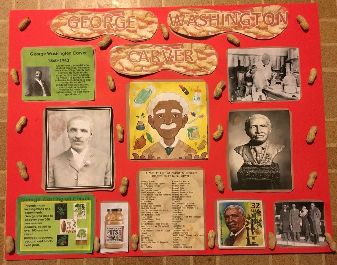 George Washington Carver Study Mom Wife Homeschool Life