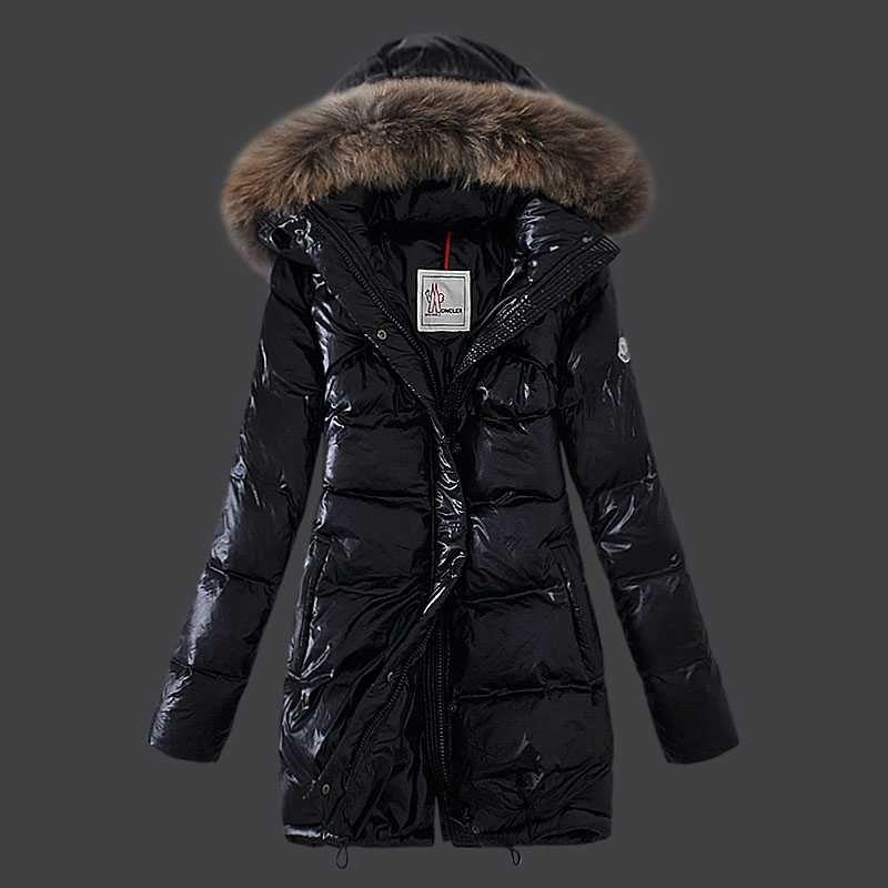 moncler jacket womens black
