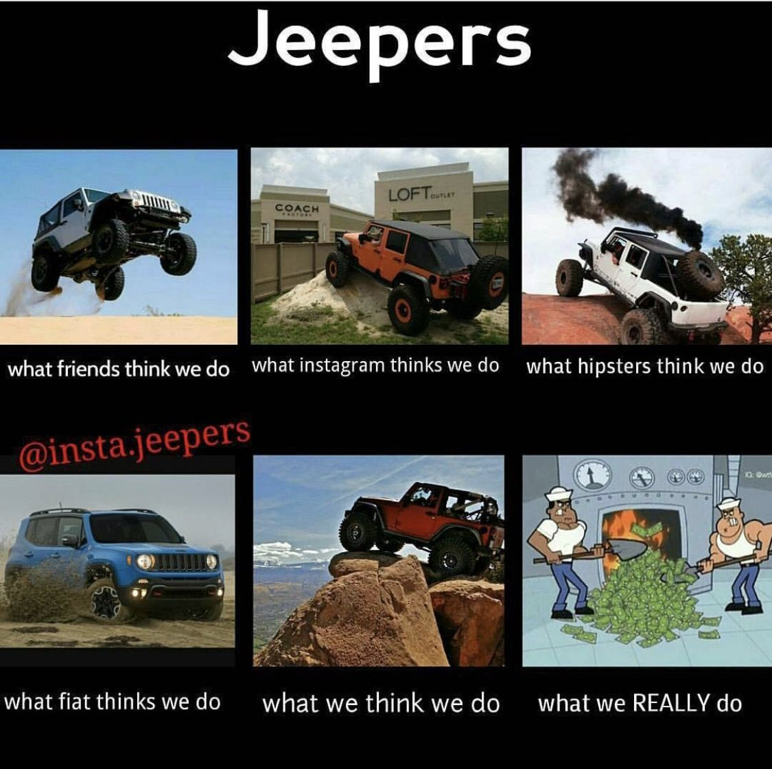 Jeep Quotes They Require Tons Of Dollar Signs And Parts  Jeeps  Pinterest