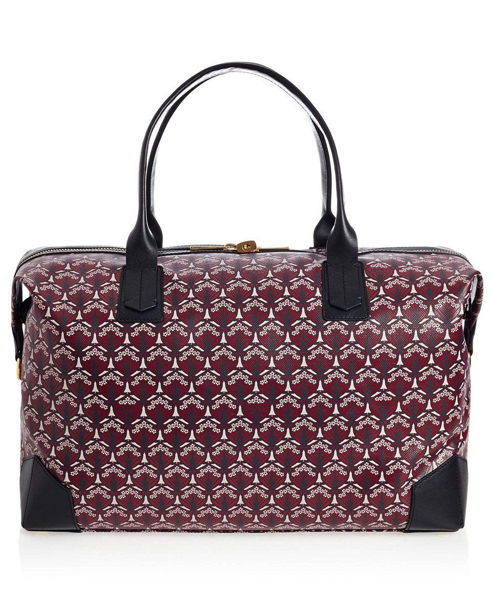 Liberty London Oxblood Regent Weekend Bag Designer Bags Co