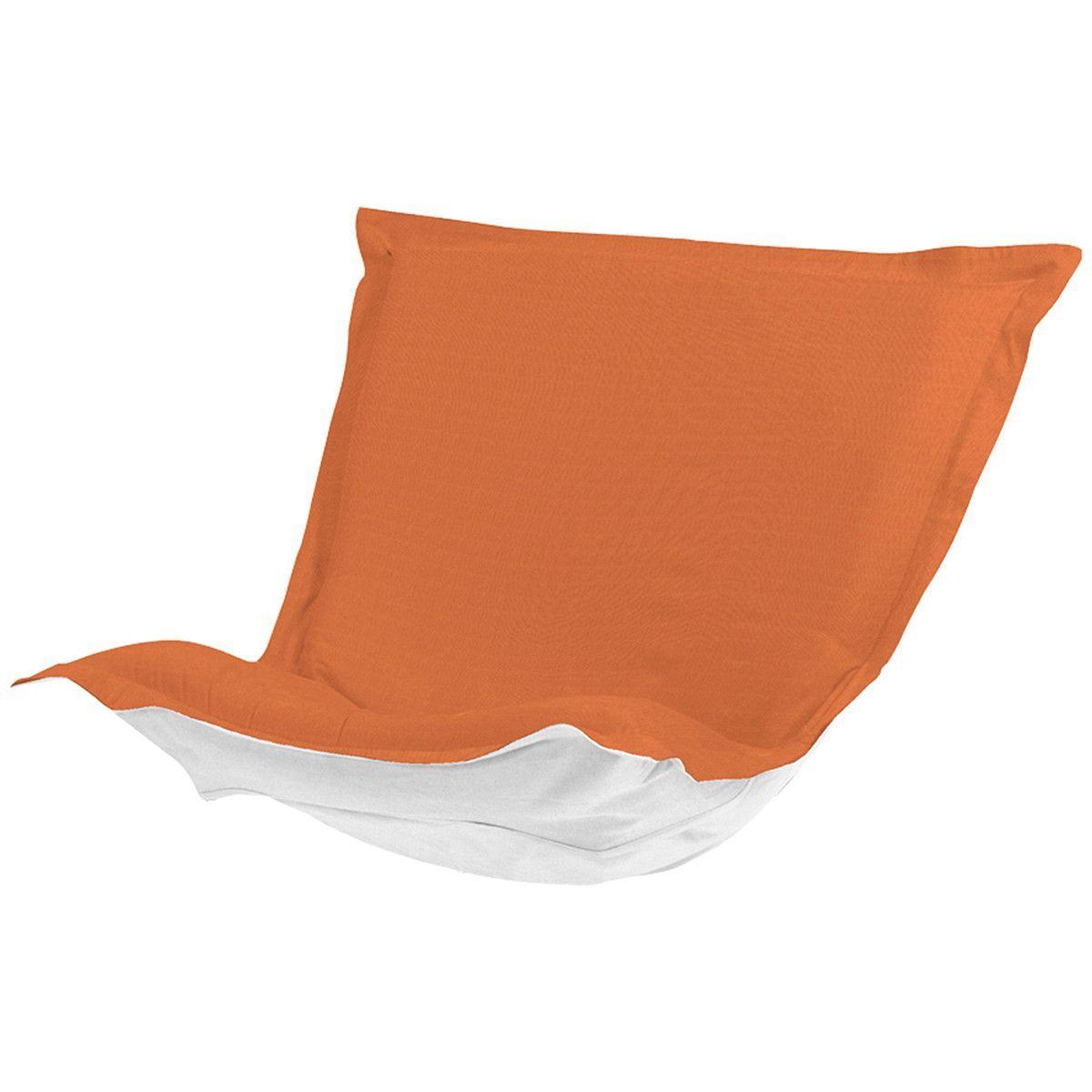 Seascape Puff Chair Cushion