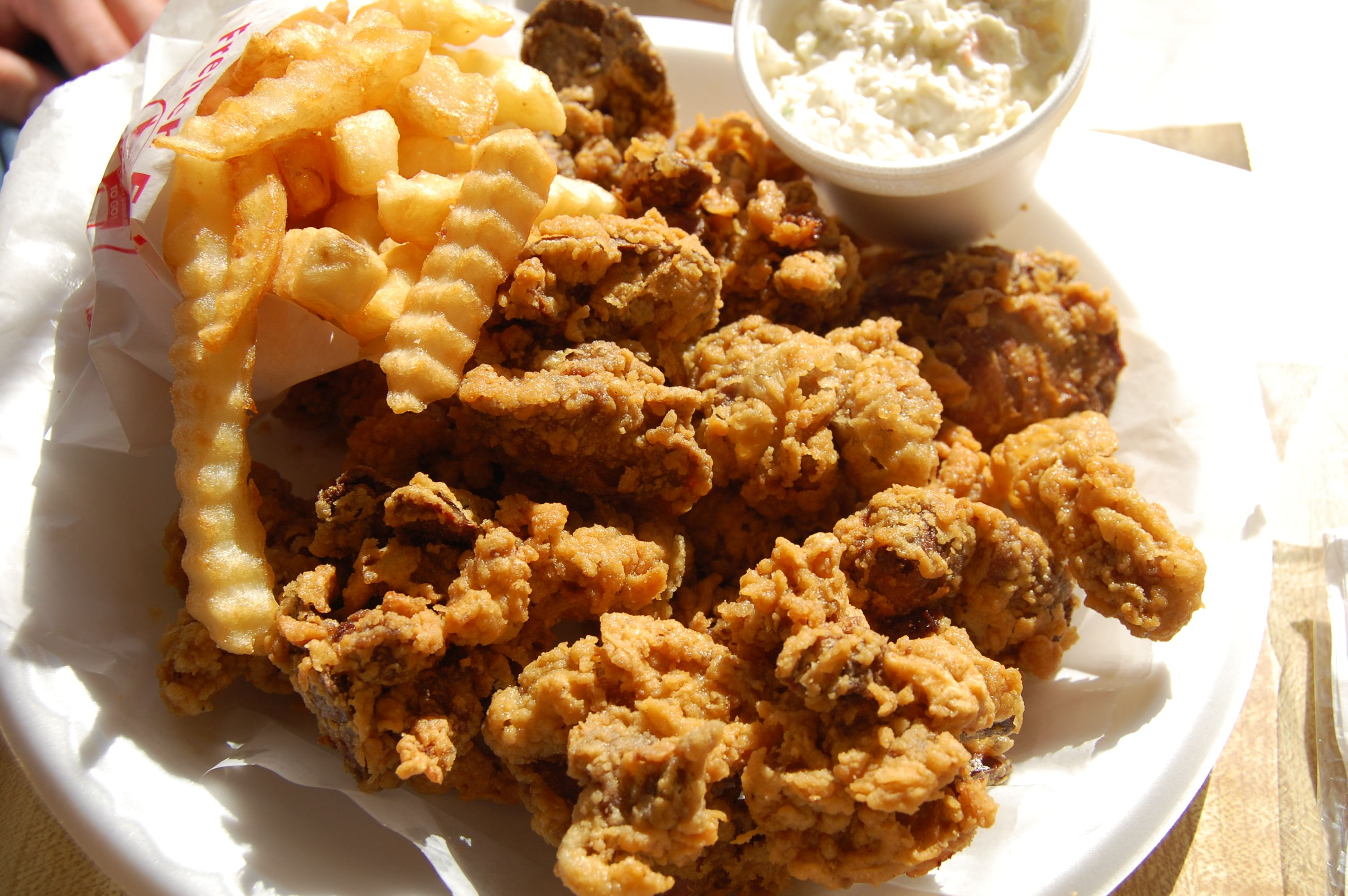 Fried En Gizzards Food Where The Difference Is Delicious At Maryland