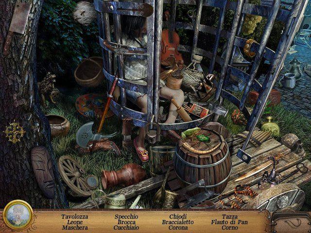 Oltre lo specchio 2 La vendetta della strega - screenshot del gioco 4 #giochi #gioco