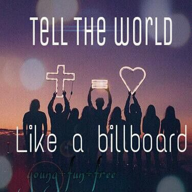 Tell the world :)