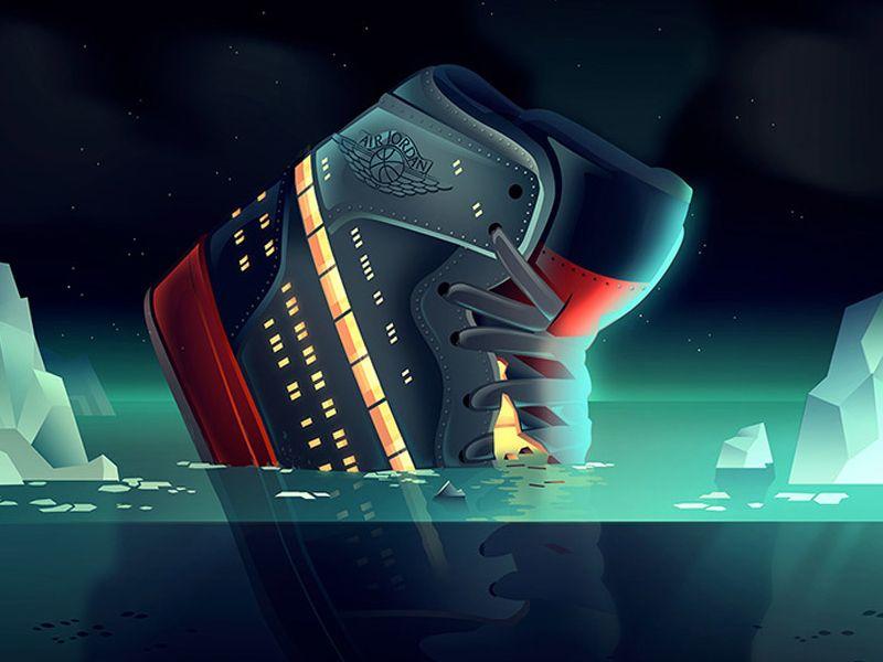 nouveau style cf969 688fd Jojo Titanic in 2019 | Creative Inspiration | Sneakers ...