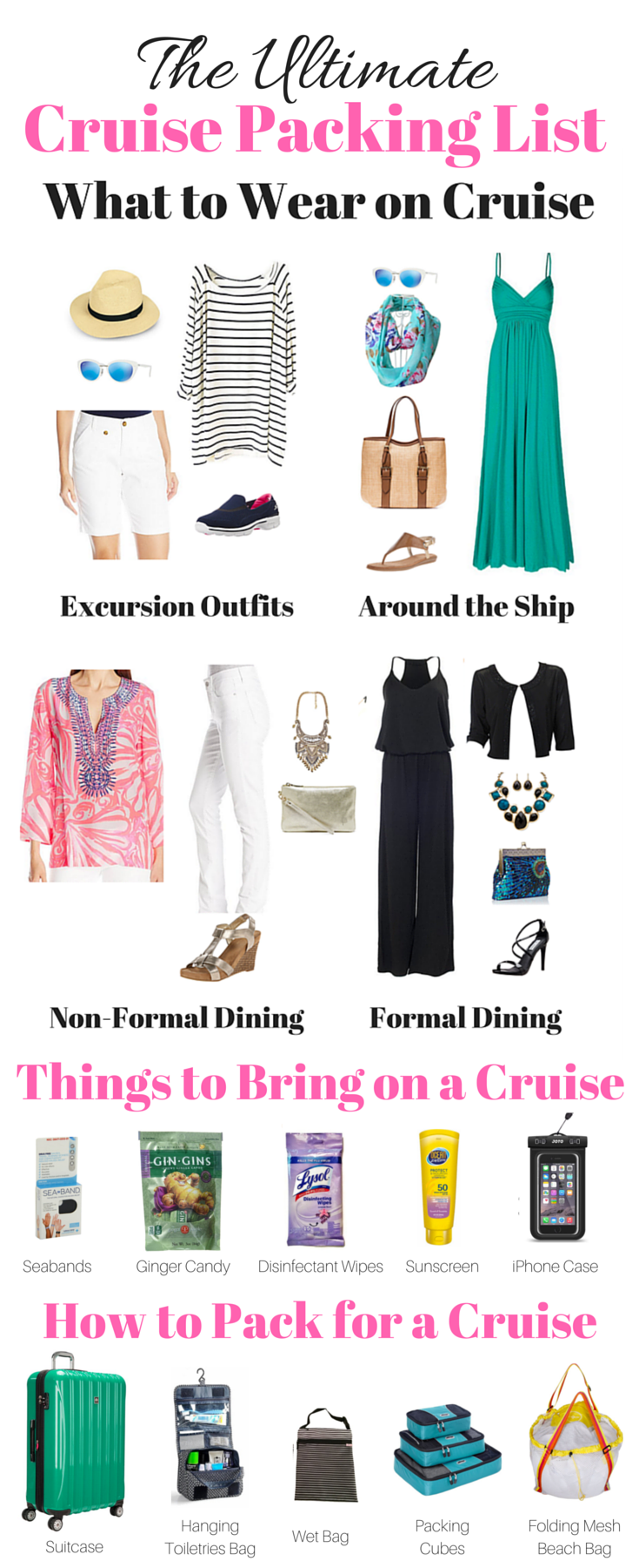 The Ultimate Cruise Packing List Downloadable PDF Checklist