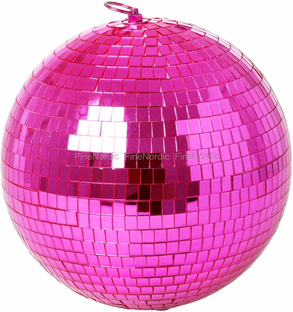 Rice Pink Disco Ball Large Disco Ball Pink Christmas Bulbs