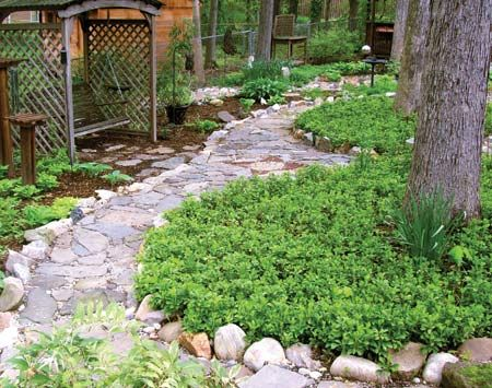 garden ideas to replace grass
