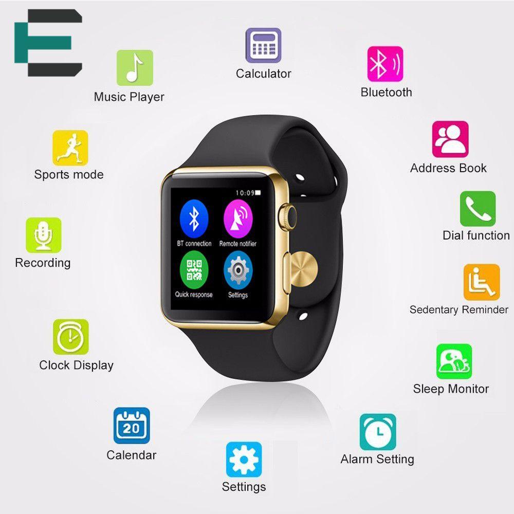 Iwo 1 1 Upgrade W51 Smartwatch Psg Pulsmesser Ip65 Wasserdichte Siri Smart Uhr Fur Iphone Huawei Xiaomi Pk Kw18 Smart Watch Apple Watch Waterproof Bluetooth