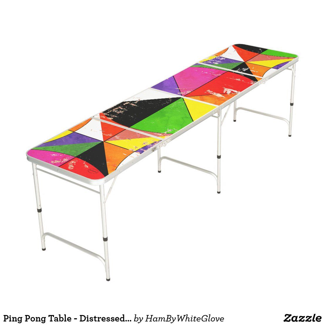 Ping Pong Table Distressed Color Wheel Hambywg Zazzle Com In 2020 Ping Pong Color Wheel Ball Storage