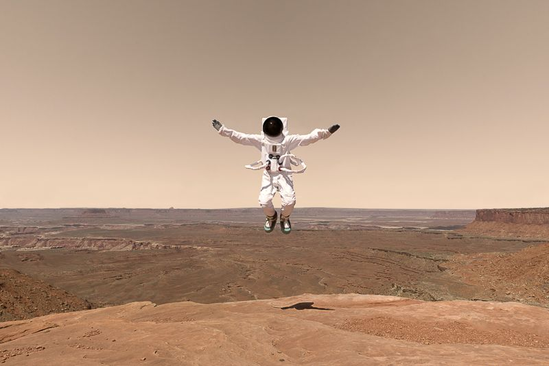 Greetings from Mars photos by Julien Mauve